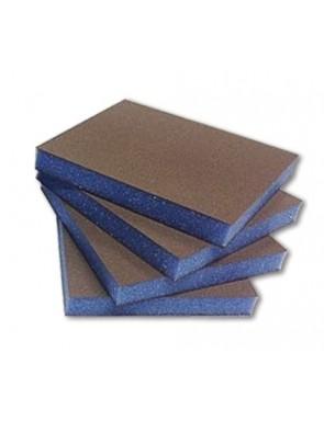 Esponja abrasiva azul doble...