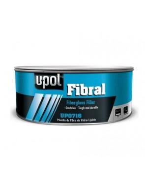 Masilla fibra de vidrio U-POL Fibral 900 ml