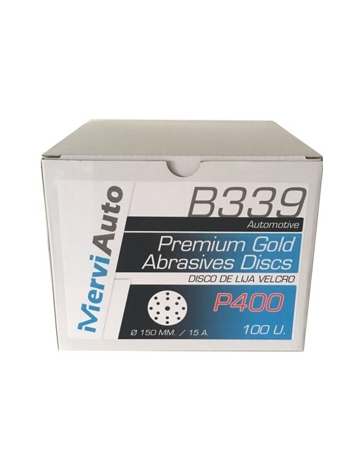 Disco de lija ø150mm (100 Uds)