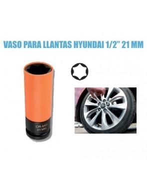 Vaso llantas Hyundai 21 mm