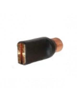 Electrodo para arandela ojal
