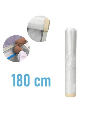 Plastico con cinta 180 cm