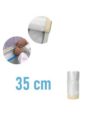 Plastico con cinta 35 cm