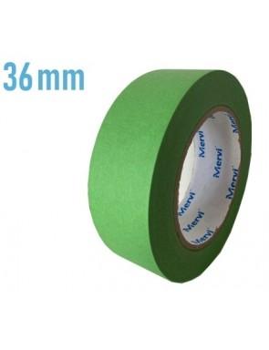 Cinta verde 36mm x 45m -  100°C.