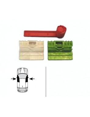 Kit Soportes cristal A4...